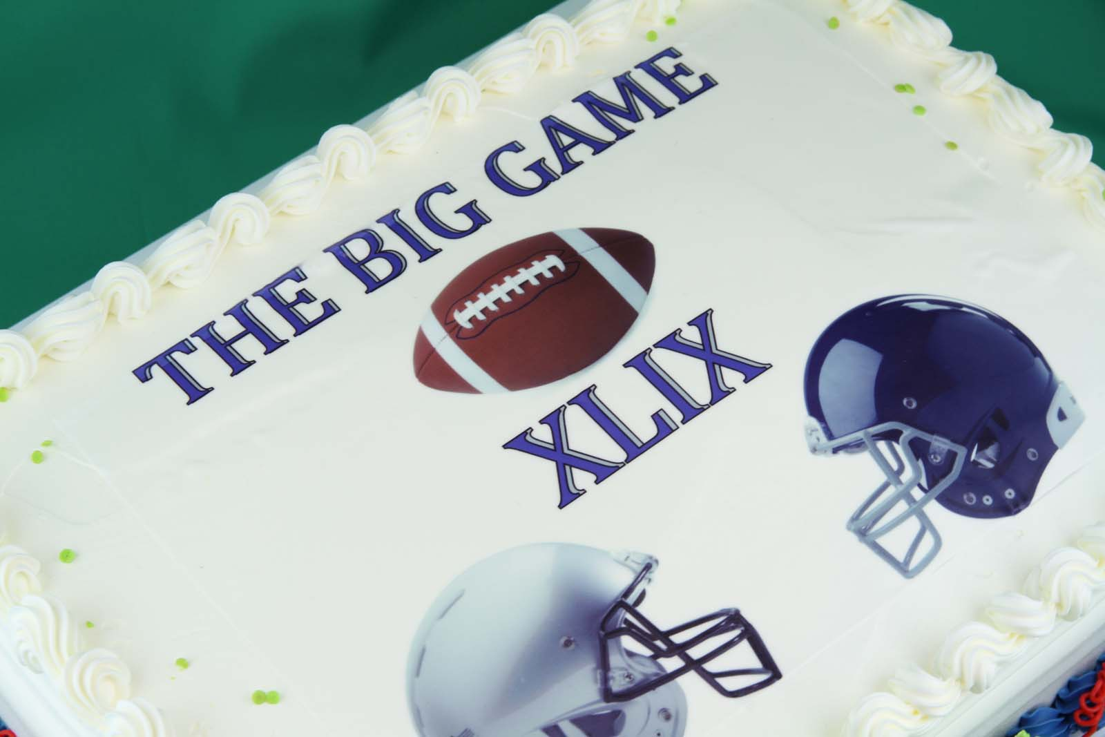 The Big Game Cake