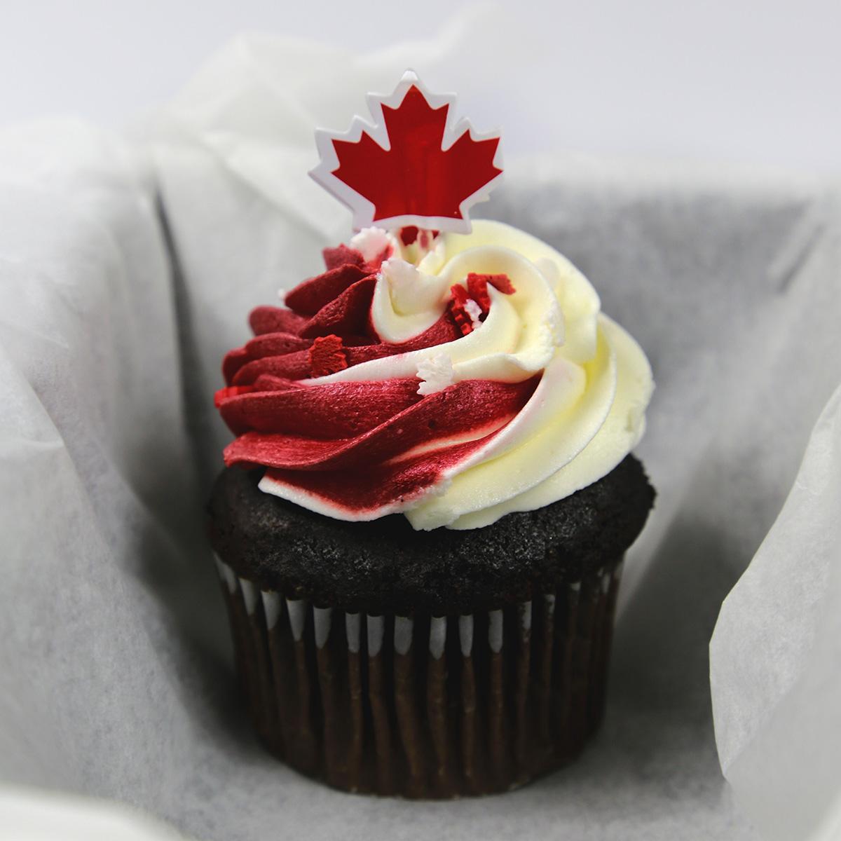 Canada150 Cupcake