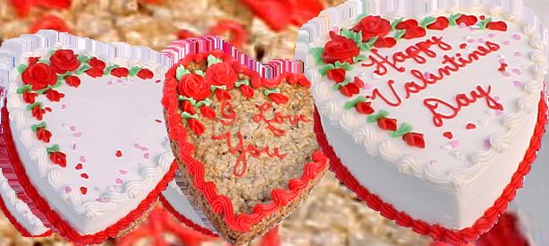 Subs Plus Valentine's Cakes